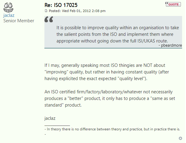 Forensic Focus Discussion - ISO 17025 is about consistency