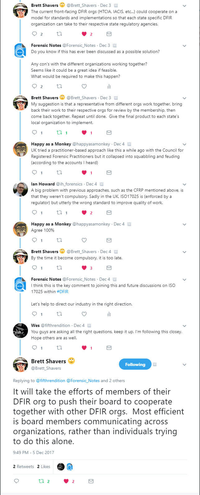 Twitter Discussion on #17025 - p2