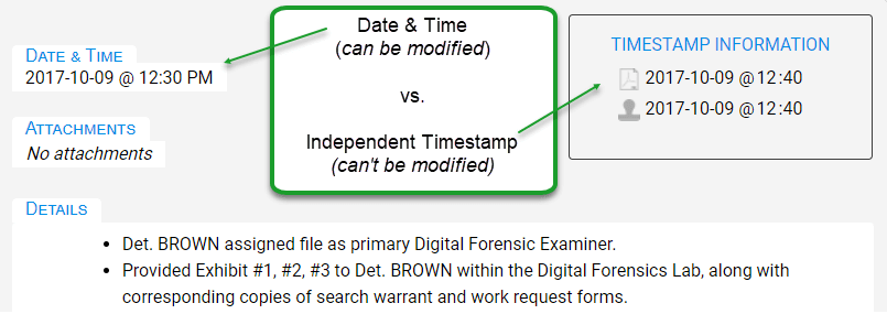 Date & Time vs. Timestamp Date & Time