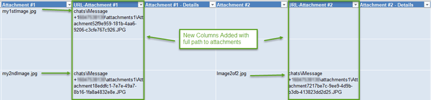 Excel Tool New Columns