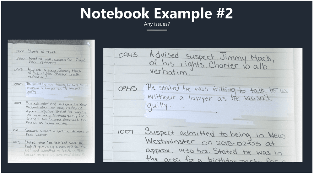 Paper Notebook - Example #2